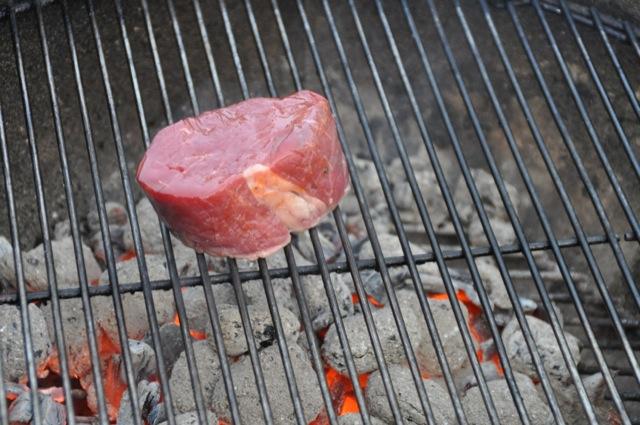 Kerntemperatur Rinderfilet auf dem Grill